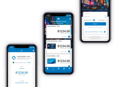 Chase Mobile App Redesign