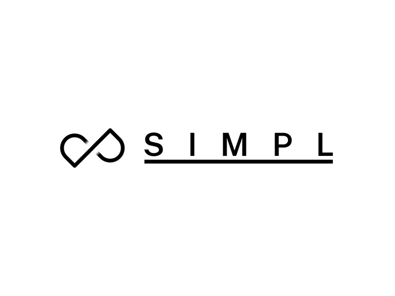 SIMPL vector illustration logo minimal typography design branding