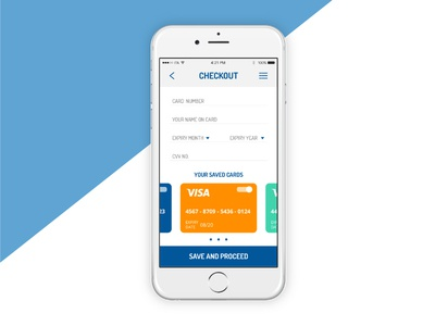 Daily UI Challenge #002 - Checkout