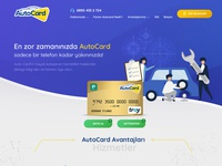 Autocard Website Design