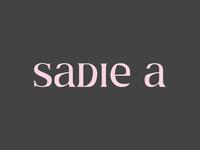 Sadie A Logotype