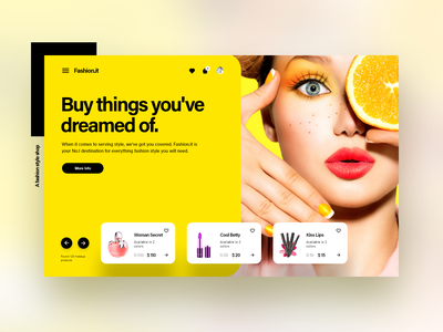 fashion.it - A Fashion Style e-commerce project illustrations onboarding ui branding fashion ux app designer design user experience prototyping interaction design