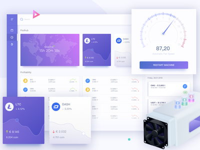Poolhub Desktop Dashboard user experience interaction design icon illustrations icons material design android animated prototyping ui ux app designer