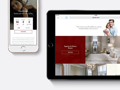 Demo tablet responsive adaptive mobile web website design ux ui