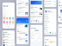 Product design of part-time working community app 设计 uidesign design ui