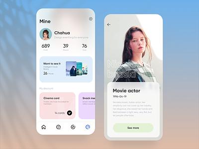 Movie App Design ui uidesign