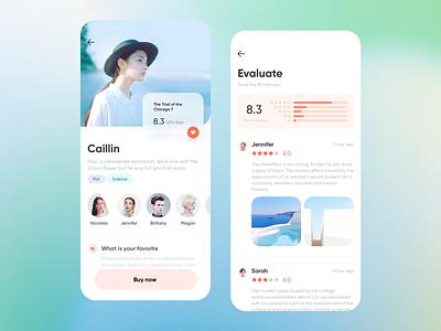 Movie App Design 7 uidesign ui