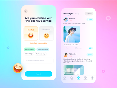 Evaluation of dating software & dynamic page ui uidesign