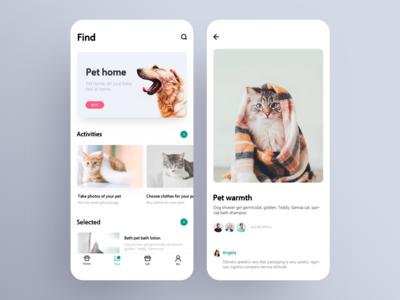 Application Design of Pet Home 02