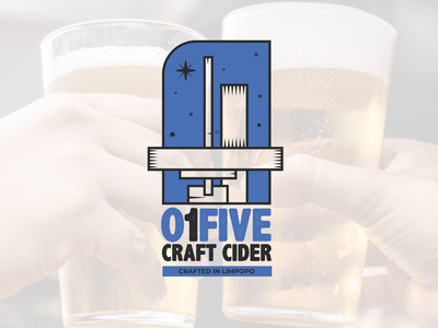 01five Craft Cider logo design