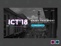 ICT 2018 Landing Page