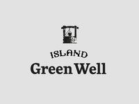 Island Green Well Water Logo