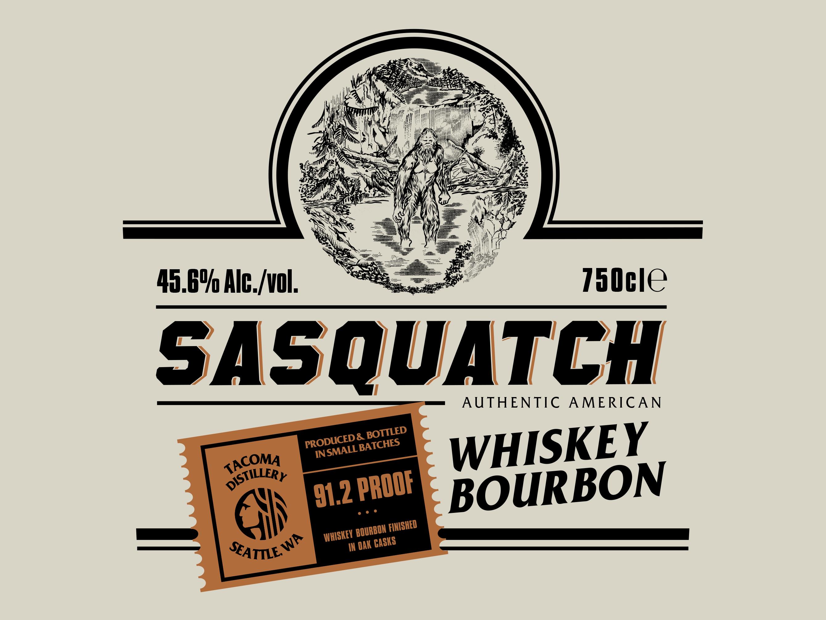 Sasquatch design dribbble