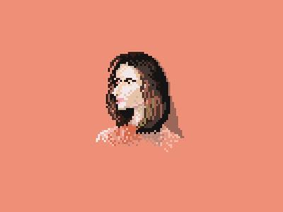 Girl pixelart