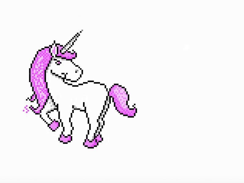 Unicorn unicorn design illustrator graphicdesign graphic adobe 8bit 8bit-graphic illustration