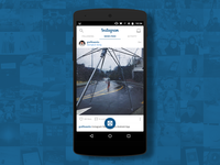 Instagram App Navigation UI Re-design (Android)