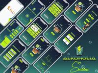 Alkoholia-Game Ui Design & Sketch
