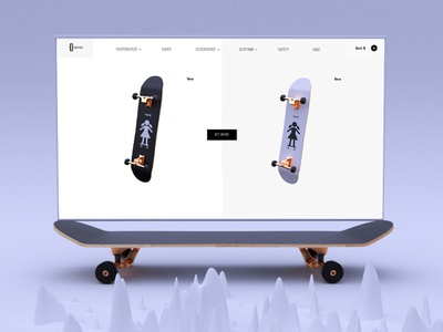 GBOARD. E-commers ux logo branding typography web ux animation ui interaction design digital