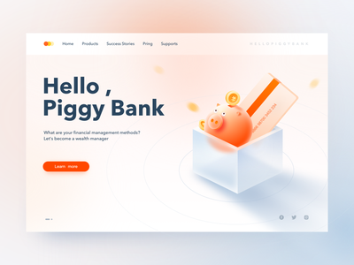 piggy bank ui financial piggybank pig