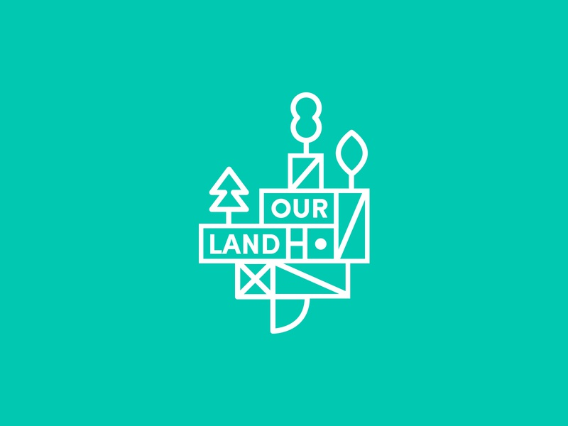 Ourland vector roonio illustration logo