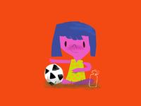Footie Girl