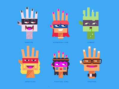 Hi 5 illustrator highfive hands vector
