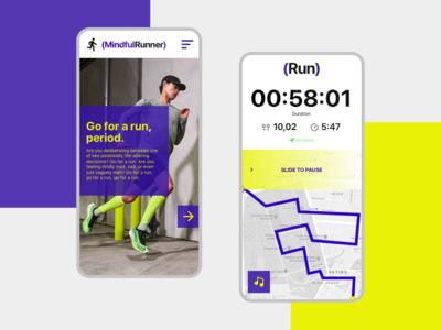 MindfulRunner  - Running mobile app