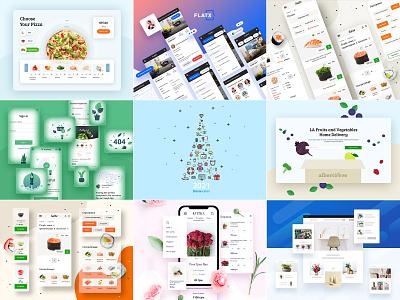 TOP 9 Shots of 2020 marketplace opencart ui element iconset icon illustration ui ux ecommerce uidesign 2020