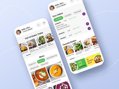 App for restaurant recipe app food app eat food design delivery app appdevelopment uxui uiux ux ui designapp appfood app food