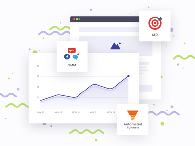 Attendance analytics graph ui extensions dashboard icons ecommerce opencart