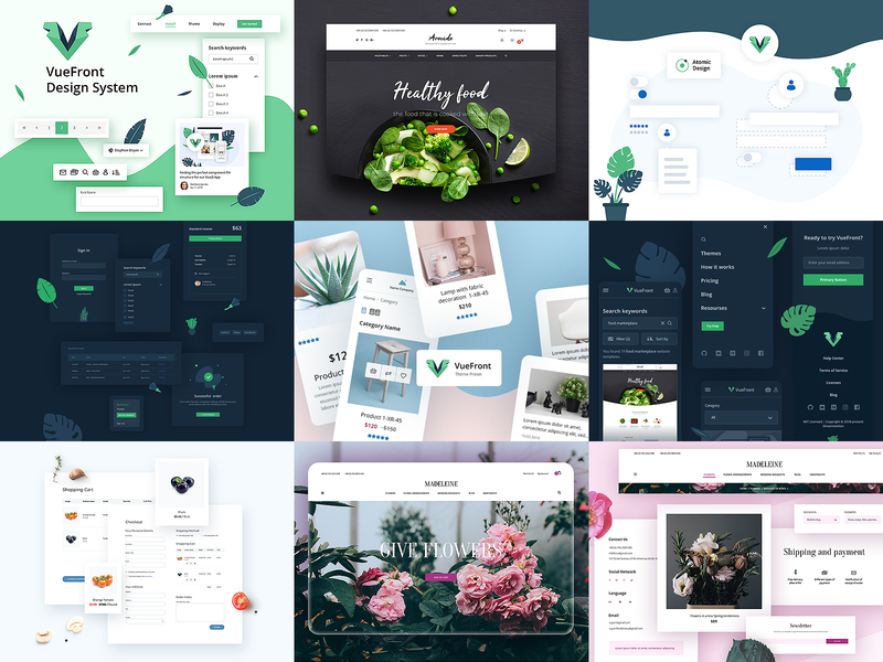 2019 best works themeforest extensions envato ux ui illustration ecommerce top nine best of 2019 2019 trend 2019