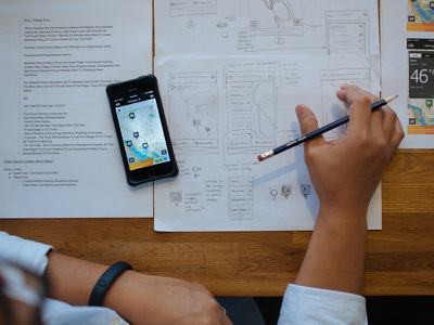 Down to the wire. ui mobile wireframes weather ios harbrco