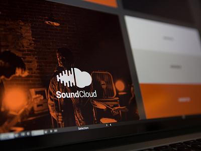 SoundCloud Redesign branding logo harbr soundcloud redesign music just for kicks