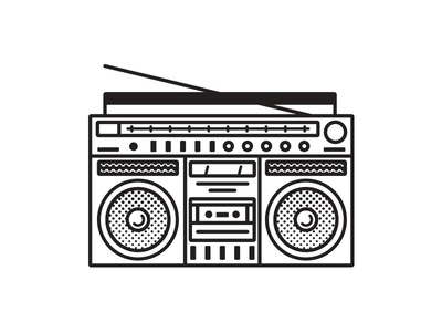 Music things-Boombox