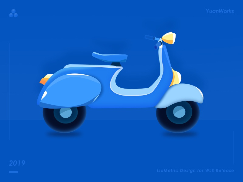 electic motor car app website web ux vector design ui illustration