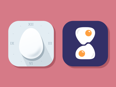 Daily UI 005 App Icon egg timer eggs egg app icon app icon daily ui app icon daily ui