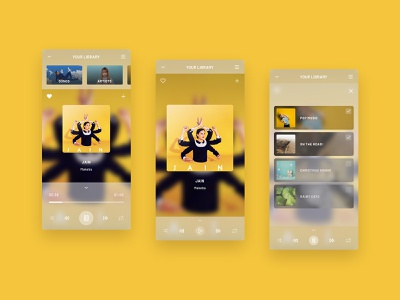 Daily UI 009 - Music Player music app music player ui music player app player music music player daily ui challenge daily ui css hover effect css hover animation ui design design html css css css animations css animation