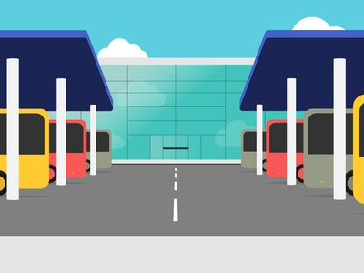 Bus station - Class Ninjas