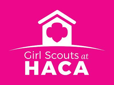 HACA logo girl scouts girls community housing authority