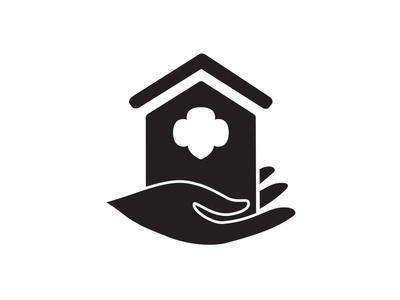 HACA Icon logo community girl scouts housing icon