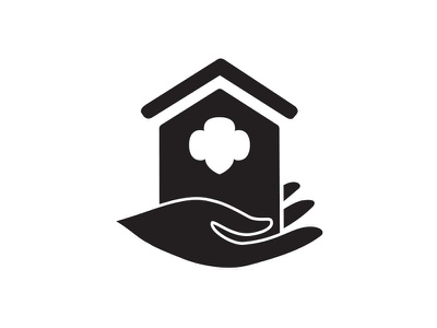 HACA Icon logo community girl scouts housing icon