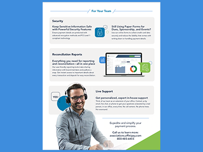 Infographic (Back) layout device processing payments brand design infographic