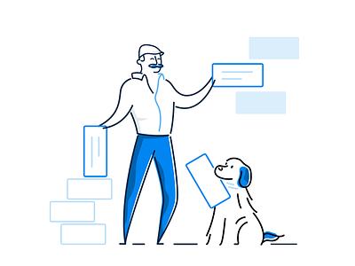 Eyup Rota Planning branding graphic  design vector software rotacloud illustration graphic design digital art design creative character illustrator employee scheduling