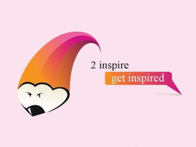 Inspiration Wala Coming Soon - 4 inspiration wala genie pencil illustrator orange pink creative mascot blog