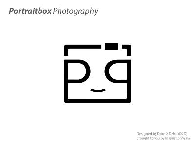 Portraitbox Photography box face portrait photography logo 11-11 logo games inspiration wala