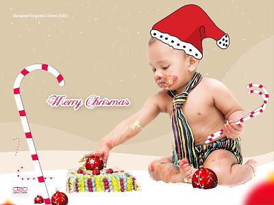 Merry Christmas 2014 wallpaper photoshop illustrator baby christmas download