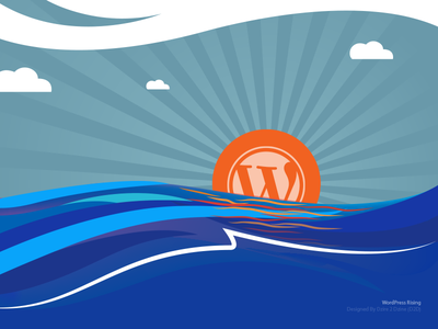 WordPress Rising wordpress wallpaper free download illustrator