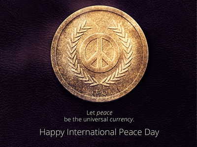 Currency of Peace peace day international world coin photoshop currency peace