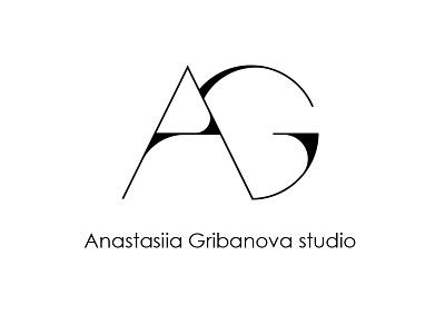 AG logo minimalism logogrid logo graphic design