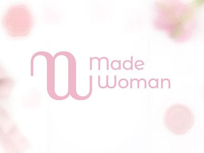 Made Woman logo minimalism logogrid logo graphic